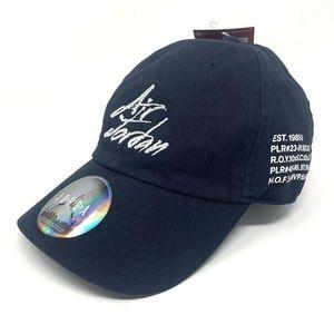 Nike Air Jordan H86 GOAT Script Strapback Hat